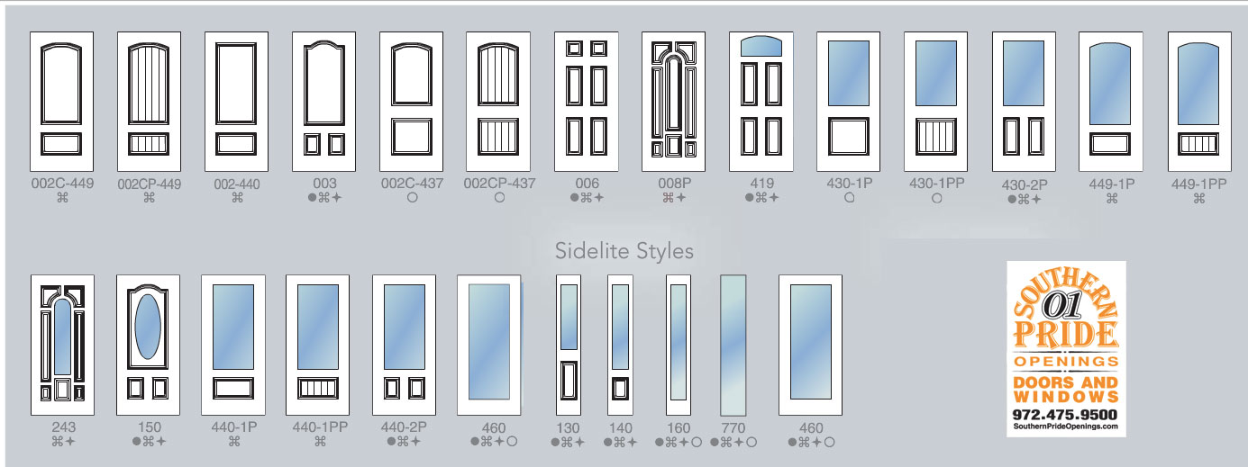 Doors styles used by many people with garage door styles for Front entry door styles
